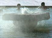 Soak in Lava Hot Springs Inn's Hot Pools