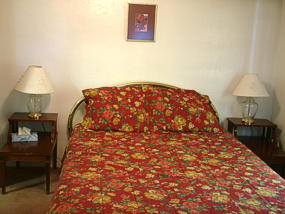 Family hotel room in Lava Hot Springs Idaho