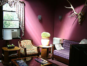 Lava Hot Springs Bed and Breakfast sitting room